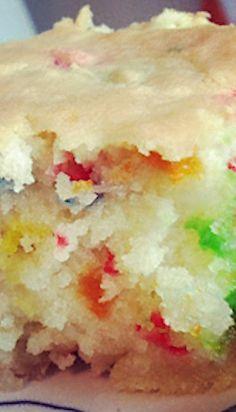 Confetti Coconut Cake