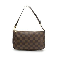 Louis Vuitton Pochette Accessoires Damier Ebene Small bags Brown Canvas N41206