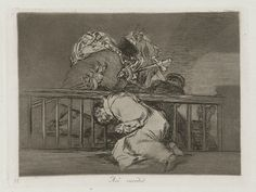 Francisco Goya, Spanish, 1746–1828, As' sucedió (This is How It Happened), Plate 47, from Los desastres de la guerra (The Disasters of War), 1863. Etching, burnished lavis, drypoint, burin and burnisher, platemark: 15.5 x 20.5 cm (6 1/8 x 8 1/16 in.). The Arthur Ross Collection, 2012.159.37.48. Photo credit: Yale University Art Gallery.