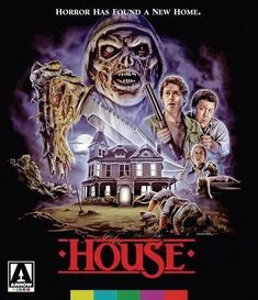 House (Blu-ray, 2017) Arrow Video Special Edition/Cult Horror! *NEW & SEALED*