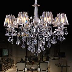 master bedroom --- -- ¥1800  --- w900  x  h550 ---- E14*10 --- --- crystal and metal ---- 水晶吊灯 现代欧式客厅灯 奢华高档餐厅灯卧室书房灯led灯具灯饰-淘宝网