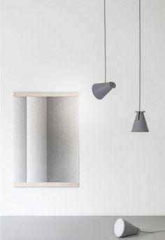 Bollard Lamp  design by Shane Schneck, Menu - http://www.leuchtend-grau.de/2015/02/erleuchtung-und-Dieter-Rams-Ausstellung.html