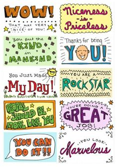 Free Lunch box note printables, creating fun memories for the kids » The Organised Housewife