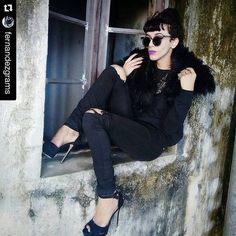 Que arraso!  Na foto, nosso óculos rendado.  www.vanityrock.com.br  #Repost @fernandezgrams with @repostapp ・・・
