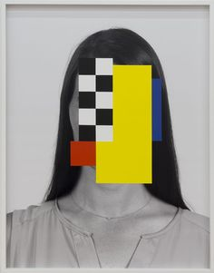 I love these abstract interventions on portrait photos realized by the Canadian novelist, visual artist and designer Douglas Coupland. Abstract Portrait, Portrait Art, Portraits, Portrait Paintings, Painting Abstract, Acrylic Paintings, Art Paintings, Douglas Coupland, Glitch Art