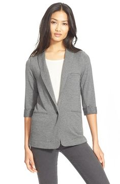 Free shipping and returns on Soft Joie 'Neville' Knit Blazer at Nordstrom.com. Go for sophisticated comfort with a cleanly styled shawl-collar blazer updated with soft stretch-knit construction for a versatile, casual-chic look.