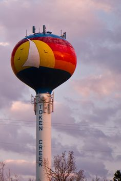 Token Creek Water Tower - Madison, Wisconsin