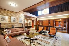 The mid century home of Architect Ernest Fooks