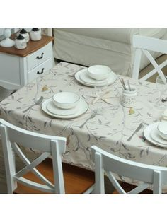 Country Style Bird Table Cloth