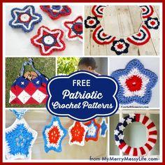 10 Free Patriotic Crochet Patterns to Celebrate Freedom!