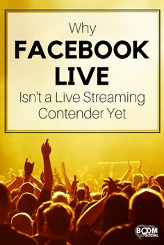 Facebook has just launched its very own live streaming app called Facebook Live!! But Facebook's live streaming feature is still miles away from replacing Periscope for most users. This post will discuss why Facebook Live isn't a live streaming contender yet.