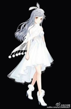 Snow Bird Fancy Dress