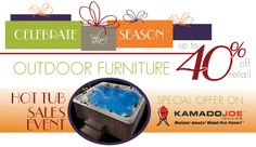 Celebrate the Season with savings at Sabine Pools, Spas & Furniture