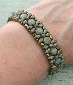 Linda's Crafty Inspirations: Pattern Review: Demoiselle Bracelet