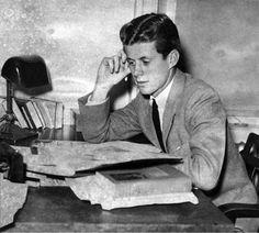 JFK at Harvard