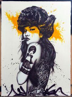 Le street-art et les illustrations de Fin DAC !