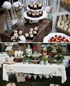 Vintage Glass Bottles ~ Ideas for Vintage Rustic Wedding Decorations | The Wedding of My Dreams ~ Blog