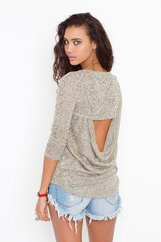 Hudson Cutout Knit, NastyGal.com, $48