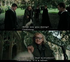 And that's kinda why I liked Barty Crouch Jr... well this, and the fact that he's David Tennant. ;D