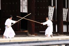 Shinto Monks practicing martial arts....beautiful!