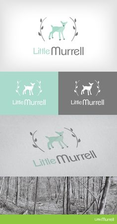 Logo Design | Branding | Little Murrell Baby Clothing | Heart and Ram Design Co.