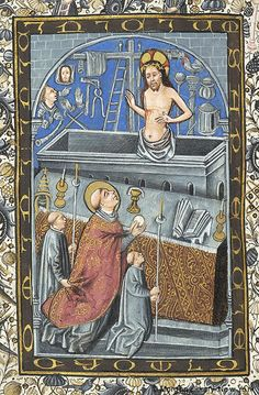 Book of Hours, MS M.854 fol. 225v - Images from Medieval and Renaissance Manuscripts - The Morgan Library & Museum