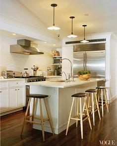 tabitha simmons kitchen | vogue feb 2012 Island