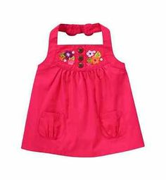 *NEW* GYMBOREE GIRLS SIZE 3T SURF ADVENTURE PINK EMBROIDERY FLOWERS HALTER TOP