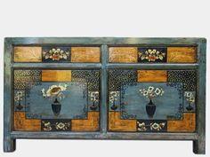 Oud Chinees dressoir 150x40x87