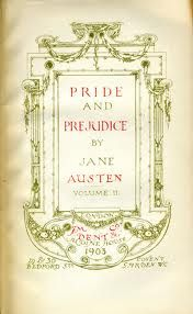 pride and prejudice book plate