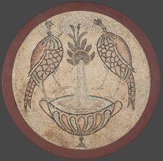 Павлины у источника. 450-462г; Византия.; V в. - православные мастерские «Русская Икона»