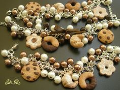 bracciali #fimo biscotti #cookies #handmade #polymerclay #julesbijoux