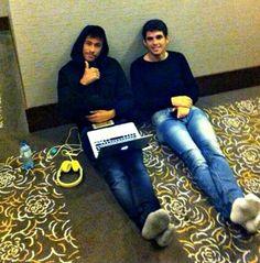 Oscar and Neymar