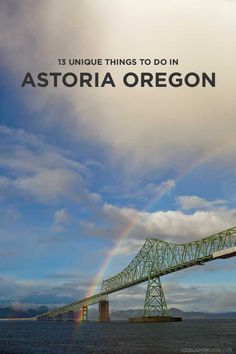 13 Unique Things to Do in Astoria Oregon for you Goonies fans and for those who just want to check out the beautiful Oregon coast // localadventurer.com
