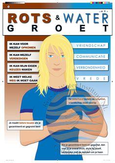 Rots & Water Instituut NL - Gadaku Instituut - Rots & Water programma Social Work, Social Skills, Kids Workshop, Training Materials, School Hacks, Special Needs, Growth Mindset, Coaching, Parenting