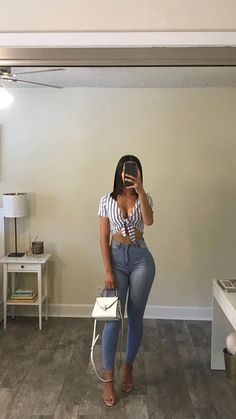 Jeans and style! Jeans and style! Outfits Fashion outfits Cute outfits Baddie outfits Outfit shoes Casual outfits Jeans and style! The post Jeans and style! appeared first on New Ideas. Mode Outfits, Fashion Outfits, Fashion Capsule, Night Outfits, Clubbing Outfits, Club Outfits, Fashion Clothes, Woman Outfits, Fashion Hacks