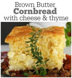 Brown Butter Cornbread recipe