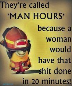 Funny Minion Meme About Men vs. Women