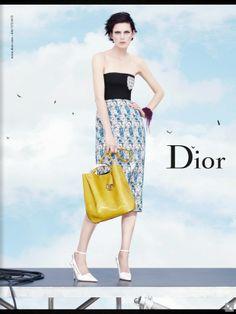 cool Christian Dior S/S 2014   Edie Campbell, Elise Crombez, Julia Nobis, Stella Tennant  por Willy Vanderperre  [Preview]