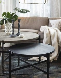 MIRAX vardagsrumsbord rustik vintage, vintage ekträ