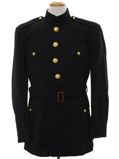 Vintage Clothing for Men & Women from the through Dress Outfits, Cool Outfits, Fashion Outfits, Marines Uniform, Vintage Clothing, Vintage Outfits, Military Dresses, Military Insignia, Othello