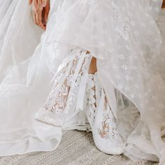 Boho Style White Lace Wedding Boots by House of Elliot Wedding Boots, Boho Wedding, Boho Fashion, Vintage Fashion, Lace Ankle Boots, Vintage Lace Weddings, Boho Boots, White Lace, Bridal