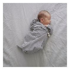 Sweet dreams, little guy 💙 Photo by @wolfandfeather #bacabuche #baby #kimono #stripes #style #ootd #sweetdreams