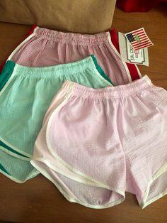 Seersucker running shorts