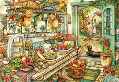 Pie Kitchen by Kim Jacobs
