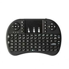 1X (I8 2,4 GHz-es vezeték nélküli Mini Qwerty billentyűzet egér érintőpad vevővel az M3W1-hez) Minion, Computer Keyboard, Electronics, Computer Keypad, Minions, Keyboard, Consumer Electronics