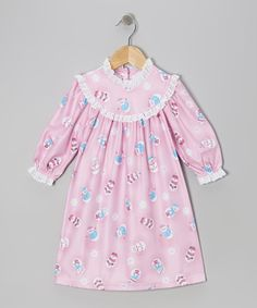 Pink Snow Friends Nightgown