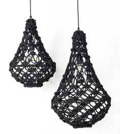 Knotted Egg light