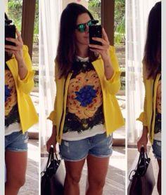 Look copa fashion brasil brazil futebol moda