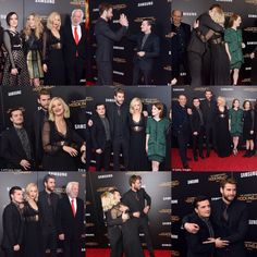 Cast at the New York Premiere for Mockingjay Part 2